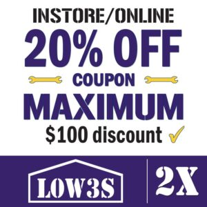 Lowes Coupon 20% OFF