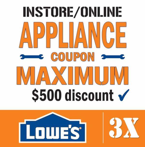 Lowes Promo Code Appliances